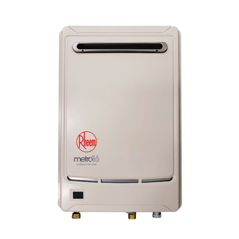 Rheem Metro 16L Gas Continuous Flow Water Heater Adelaide