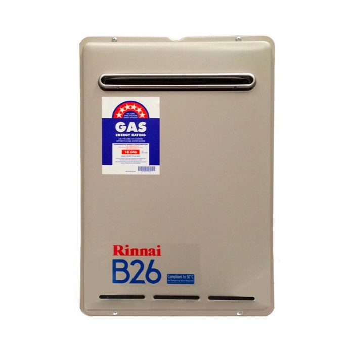 Rinnai Builders 26 Gas Continuous Flow Hot Water System Adelaide
