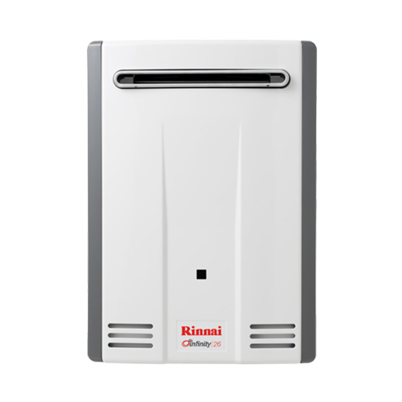 Rinnai Infinity 26 Continuous Flow Gas Hot Water System Adelaide