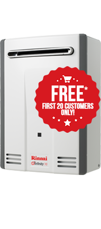 Rinnai Infinity 16 Gas Hot Water Service With Promo