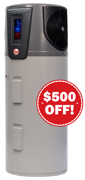 Rheem AMBIHEAT Heat Pump Offer
